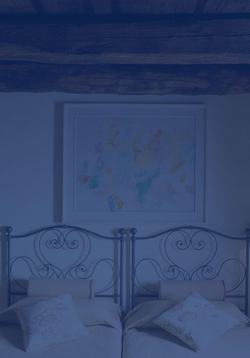 Bed & breakfast camere d'artista pittore ticinese canton ticino