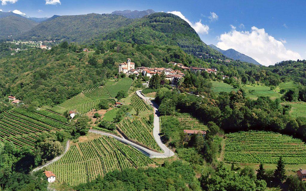 Tenuta tamborini - Vallombrosa Canton Ticino Castelrotto foto postprodotta
