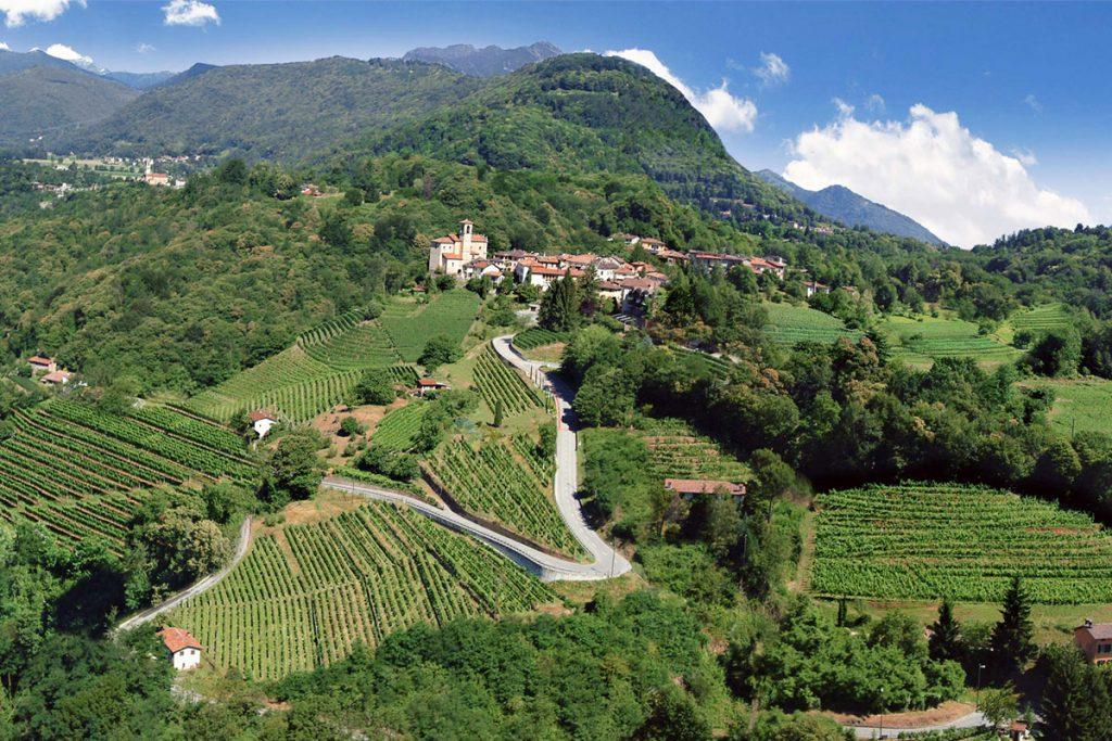 Valle vallombrosa Castelrotto - Canton ticino - Foto post prodotta